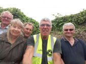 Ian Howlett, Dawn Baskerville, Brian baskerville, Dave Maw and Michael Geen