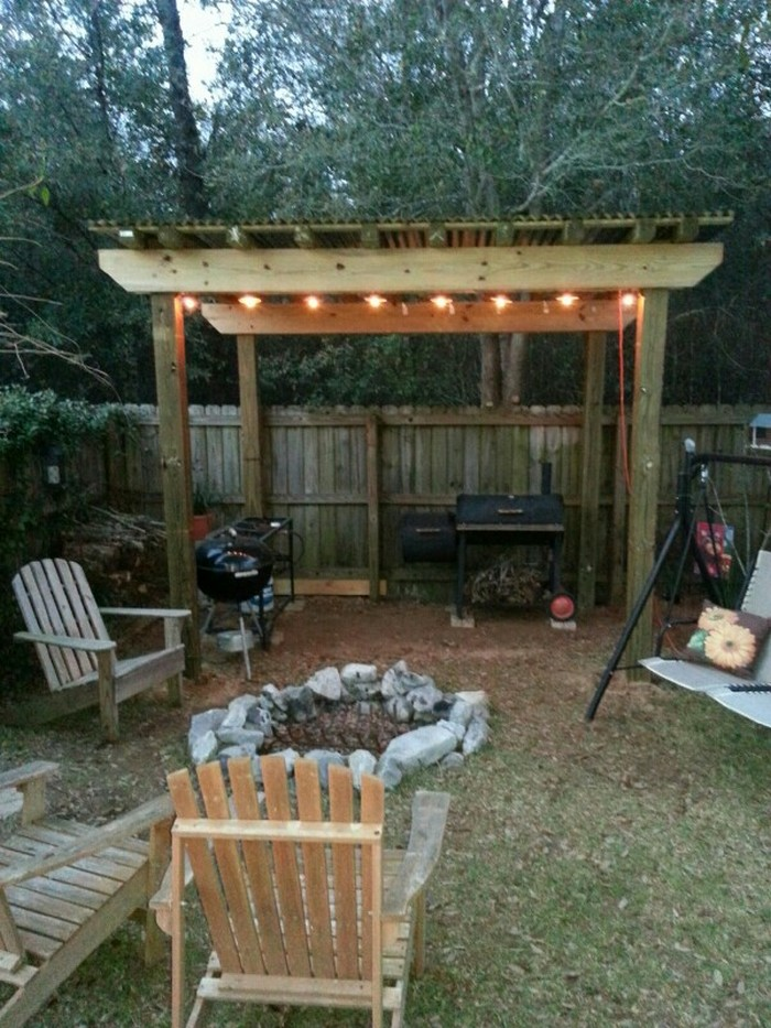 Build Your Own Backyard Grill Gazebo Your Projects Obn