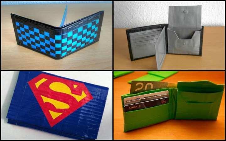 Diy Duct Tape Wallet Diydrysite