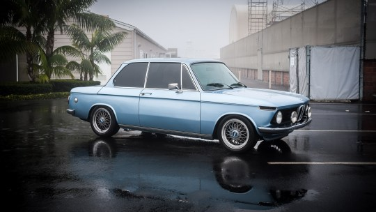 1976 BMW 2002 Restomod with Custom BBS