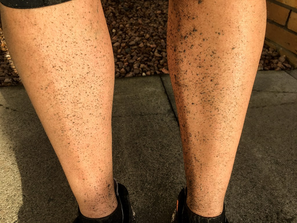 Guess what - it turns out that muddy canal towpaths are not alwasys the cleanest place to cycle...