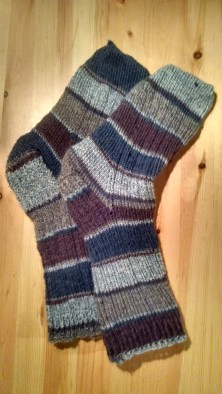 First ever pair of knit socks :D