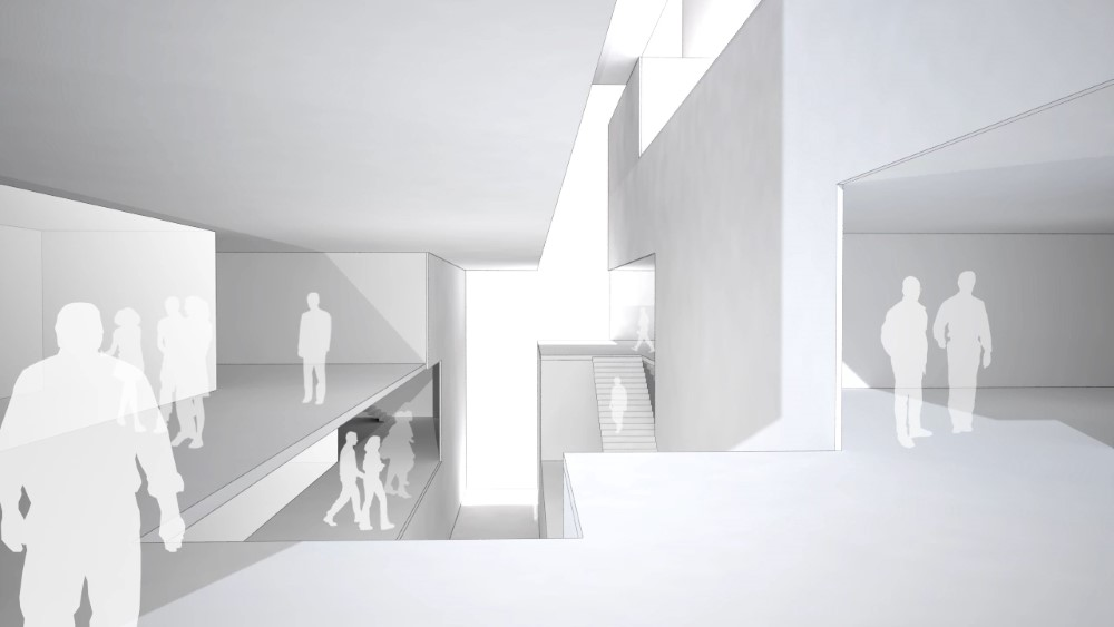 As the building is understood as voxels, the visualization between interdependencies between interior and exterior spaces and programs can give direct feedback to designers.