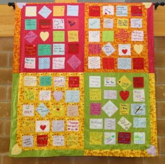 100 acts of kindness quilt