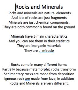 Alex B Poem
