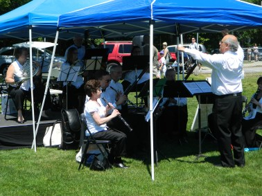 The Reading Symphony Orchestra at Friends and Family Day.