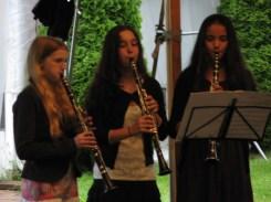 The clarinet trio.