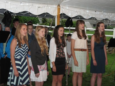 Noteworthy singing at the second concert.