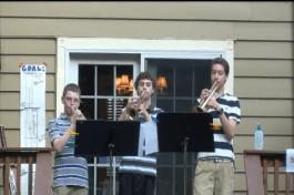 The trumpet trio!