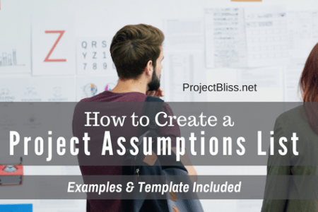 How to Create a Project Assumptions List  Examples and Template     How to Create a Project Assumptions List  Examples and Template Included    Project Bliss