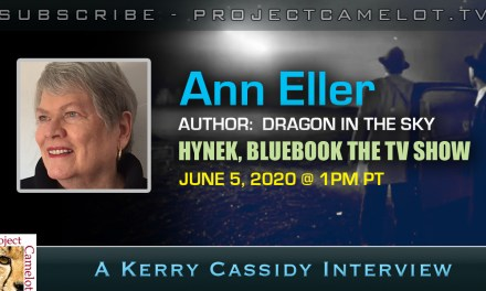 ANN ELLER:  RE PROJECT BLUEBOOK, J. ALLEN HYNEK, ET DISCLOSURE