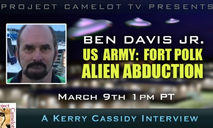 BEN DAVIS:  US ARMY : FORT POLK ALIEN ABDUCTION – ON YOUTUBE