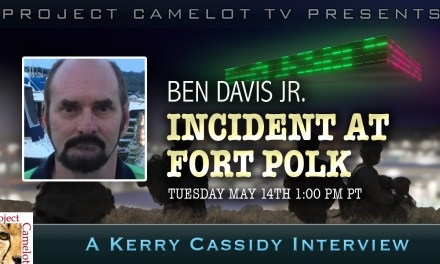 BEN DAVIS JR. – INCIDENT AT FORT POLK interview 2 – ARMY ABDUCTION – sound edited
