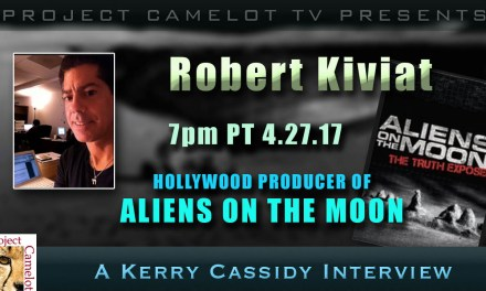 ROBERT KIVIAT – ALIENS ON THE MOON – PRODUCER – MY GUEST TONIGHT 7PM PT