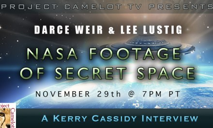 DARCE WEIR & LEE LUSTIG & NASA FOOTAGE OF SECRET SPACE