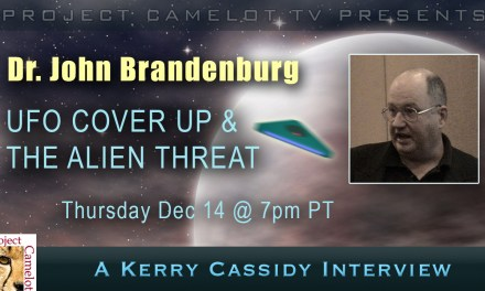 DR. JOHN BRANDENBURG:  THE UFO COVERUP & THE ALIEN THREAT