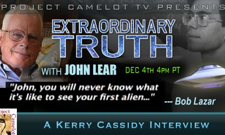 JOHN LEAR  — BIRTHDAY SHOW – BOB LAZAR REMEMBERS HIS FIRST ALIEN!