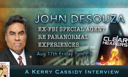 JOHN DESOUZA – EX-FBI RE PARANORMAL EXPERIENCES