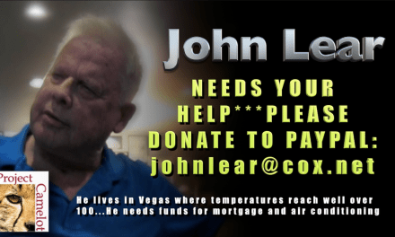 URGENT!  JOHN LEAR NEEDS YOUR HELP!!