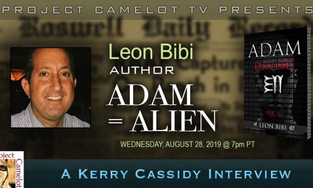 LEON BIBI :  ORIGINS OF HUMANITY : ADAM=ALIEN