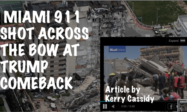 MIAMI 911 SHOT ACROSS THE BOW AT TRUMP COMEBACK – UPDATED JUNE 28TH