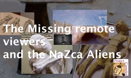 UPDATED:  THE REMOTE VIEWERS & THE NAZCA ALIENS