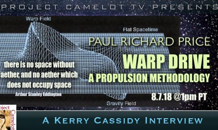PAUL RICHARD PRICE : INTERVIEW TWO : RE WARP DRIVE