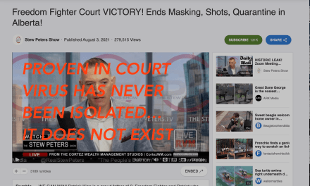 PROVEN IN COURT — VIRUS HAS NEVER BEEN ISOLATED IT DOES NOT EXIST!