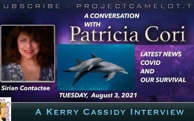 PATRICIA CORI:  SIRIAN CONTACTEE:  RE LATEST NEWS SURVIVING COVID
