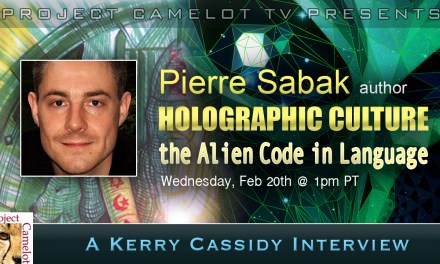 PIERRE SABAK :  HOLOGRAPHIC CULTURE:  the alien code in language