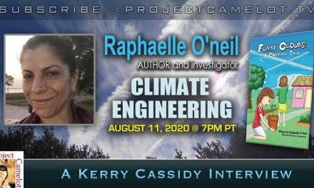 RAPHAELLE O'NEIL:  CLIMATE ENGINEERING AND THE CHILDREN'S BOOK ON CHEMTRAILS