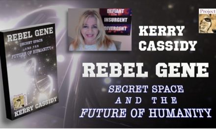 KERRY'S BOOK:  REBEL GENE:  SECRET SPACE AND THE FUTURE OF HUMANITY ON AMAZON