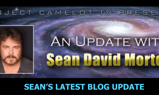 MESSAGE FROM SEAN DAVID MORTON – UPDATE MARCH 15, 2021