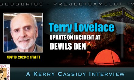 TERRY LOVELACE:  LAWYER, AUTHOR, FORMER AIR FORCE ABDUCTEE