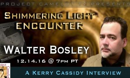 WALTER BOSLEY:  ENCOUNTER  – former AFOSI Agent