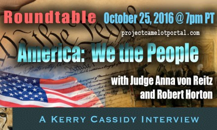 ROUNDTABLE:  Anna von Reitz  and Robert Horton  :  We The People