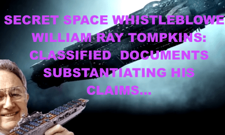 BILL TOMPKINS :  DOCUMENTS SUBSTANTIATING HIS SECRET SPACE CLAIMS