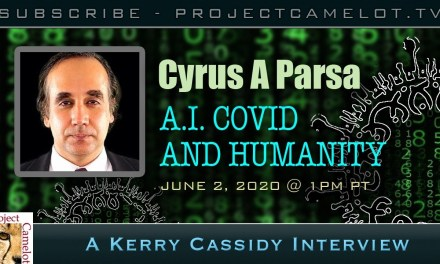 CYRUS PARSA:  AI COVID AND HUMANITY
