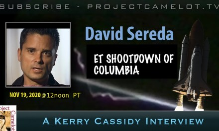 DAVID SEREDA:  ET SHOOTDOWN OF COLUMBIA?