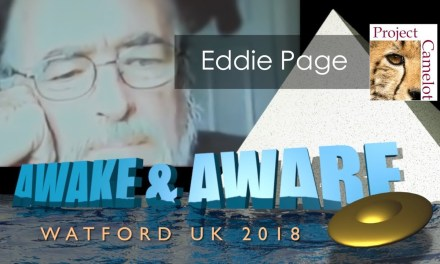 EDDIE PAGE : PLEIADIAN AT AWAKE & AWARE UK LIVE
