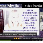 KERRY INTERVIEWED BY JEAN-CLAUDE WITH GUEST TAROT BY JANINE RE JFK JR. AND DIANA