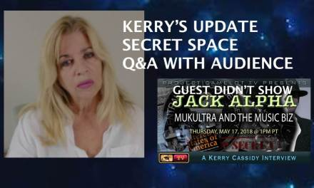 KERRYS UPDATE MAY 17, 2018 Q&A WITH AUDIENCE
