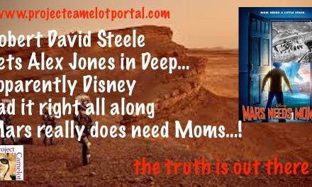 Mars Needs Moms – Robert Steele Gets Alex Jones in Deep