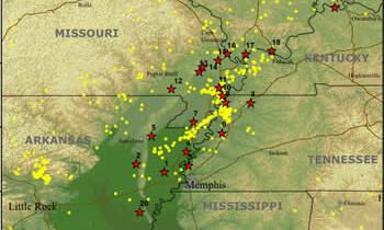 FIELD REPORT:  NEW MADRID FAULT