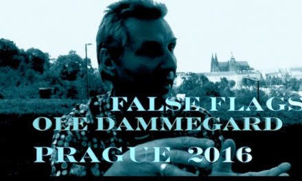 OLE DAMMEGARD:  IN PRAGUE RE FALSE FLAGS