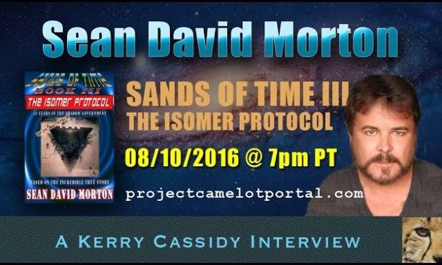 SEAN DAVID MORTON RE ISOMER PROTOCOL — NEW BOOK – AUGUST 10TH 7PM PT