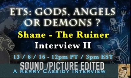 SHANE : THE RUINER: ETS, GODS AND DEMONS : NOW ON YOUTUBE