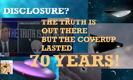 UFO DISCLOSURE OR MORE LIES?