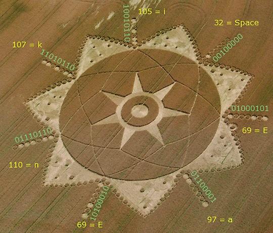 italy poirino crop circle