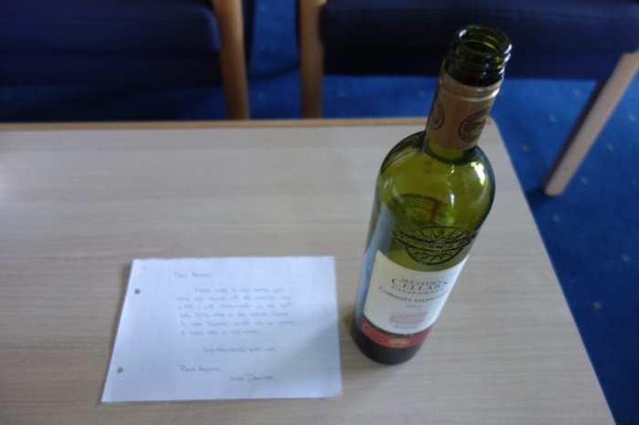 Bottle Post